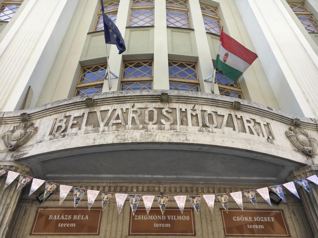 le cinéma Belvarosi à Széged