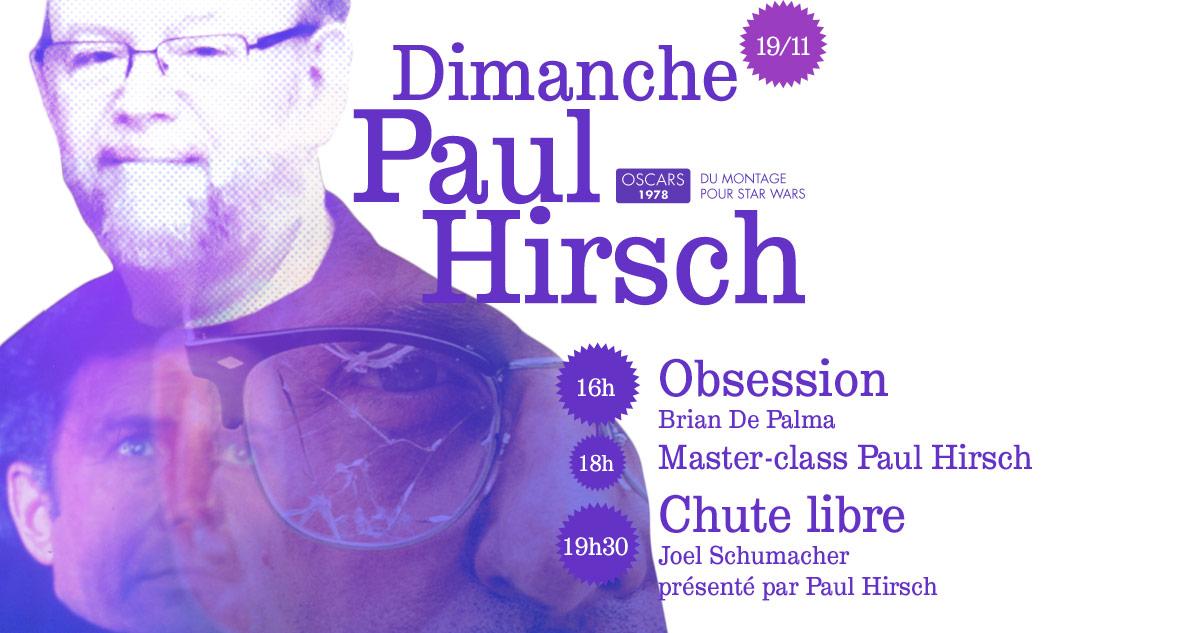 PAUL HIRSCH (Oscar 1978 pour Star Wars) sera au Grand Action dimanche 19 novembre